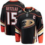 Fanatics Branded Ryan Getzlaf Anaheim Ducks Black Breakaway Player Jersey