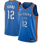 Nike Steven Adams Oklahoma City Thunder Blue Swingman Jersey - Icon Edition