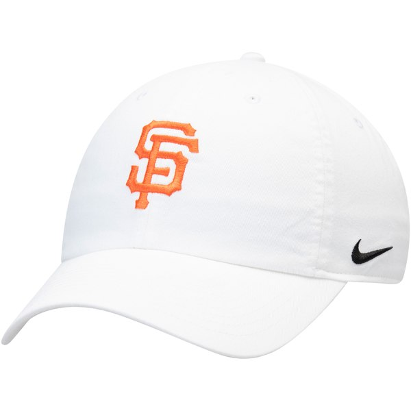 Recently Added Products. Nike San Francisco Giants White MLB Heritage 86 Adjustable  Hat ... f84ac07a980