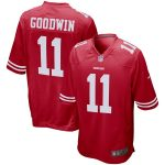 Nike Marquise Goodwin San Francisco 49ers Scarlet Player Game Jersey