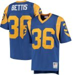 Mitchell & Ness Jerome Bettis Los Angeles Rams Royal Replica Retired Player Jersey