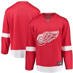 Fanatics Branded Detroit Red Wings Youth Red Breakaway Home Jersey