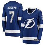 Fanatics Branded Mathieu Joseph Tampa Bay Lightning Women's Blue Home Breakaway Player Jersey