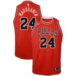 Nike Lauri Markkanen Chicago Bulls Youth Red Swingman Jersey - Icon Edition