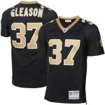 Mitchell & Ness Steve Gleason New Orleans Saints Black Retired Player Vintage Replica Jersey
