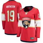 Fanatics Branded Mike Matheson Florida Panthers Women's Red Home Breakaway Player Jersey