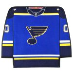 St. Louis Blues 12'' x 18'' Jersey Traditions Banner
