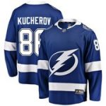 Fanatics Branded Nikita Kucherov Tampa Bay Lightning Blue Home Breakaway Player Jersey