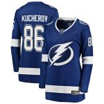 Fanatics Branded Nikita Kucherov Tampa Bay Lightning Women's Blue Premier Breakaway Player Jersey