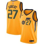 Nike Rudy Gobert Utah Jazz Gold Replica Swingman Jersey - Statement Edition