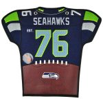 Seattle Seahawks 20'' x 18'' Jersey Traditions Banner