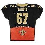 New Orleans Saints 20'' x 18'' Jersey Traditions Banner