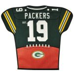 Green Bay Packers 20'' x 18'' Jersey Traditions Banner