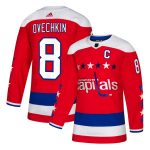adidas Alexander Ovechkin Washington Capitals Red Alternate Authentic Player Jersey