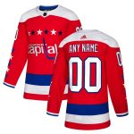 adidas Washington Capitals Red Alternate Authentic Custom Jersey