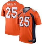 Nike Chris Harris Jr Denver Broncos Orange Legend Jersey