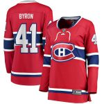 Fanatics Branded Paul Byron Montreal Canadiens Women's Red Home Breakaway Player Jersey