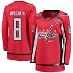 Fanatics Branded Alexander Ovechkin Washington Capitals Women's Red Home Breakaway Player Jersey