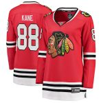 Fanatics Branded Patrick Kane Chicago Blackhawks Women's Red Home Breakaway Player Jersey