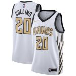 Nike John Collins Atlanta Hawks Youth White 2018/19 Swingman Jersey - City Edition