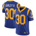 Nike Todd Gurley Los Angeles Rams Royal Vapor Untouchable Limited Player Jersey