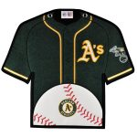 Oakland Athletics 14'' x 22'' Jersey Traditions Banner - Green/Gold
