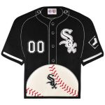 Chicago White Sox 14'' x 22'' Jersey Traditions Banner - Black/White