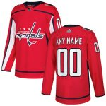 adidas Washington Capitals Red Authentic Custom Jersey