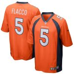 Nike Joe Flacco Denver Broncos Orange Game Jersey