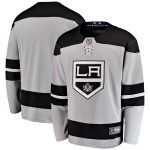 Fanatics Branded Los Angeles Kings Gray Alternate Breakaway Jersey