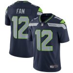 Nike 12s Seattle Seahawks College Navy Vapor Untouchable Limited Player Jersey