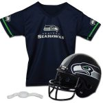 Franklin Sports Seattle Seahawks Youth Helmet and Jersey Set