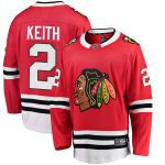 Fanatics Branded Duncan Keith Chicago Blackhawks Red Breakaway Player Jersey