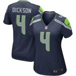 Nike Michael Dickson Seattle Seahawks Women's Navy Game Jersey