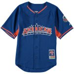 Majestic New York Mets Youth Royal Fashion 2013 All-Star Game Batting Practice Jersey