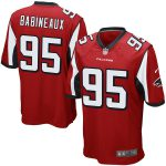 Nike Jonathan Babineaux Atlanta Falcons Youth Red Team Color Game Jersey