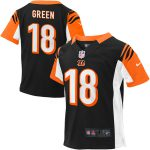 Nike AJ Green Cincinnati Bengals Toddler Black Game Jersey