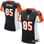 Nike Tyler Eifert Cincinnati Bengals Girls Youth Black Game Jersey