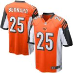 Nike Giovani Bernard Cincinnati Bengals Youth Orange Alternate Game Jersey