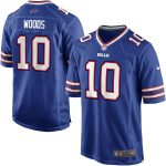 Nike Robert Woods Buffalo Bills Youth Royal Blue Team Color Game Jersey
