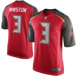 Nike Jameis Winston Tampa Bay Buccaneers Youth Red Game Jersey