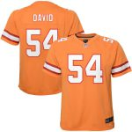 Nike Lavonte David Tampa Bay Buccaneers Youth Orange Game Jersey