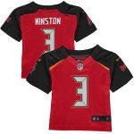 Nike Jameis Winston 3 Tampa Bay Buccaneers Infant Red Team Color Game Jersey