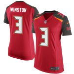 Nike Jameis Winston Tampa Bay Buccaneers Women's Red 2015 Game Jersey