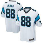 Nike Greg Olsen Carolina Panthers Youth White Game Jersey