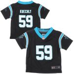 Nike Luke Kuechly Carolina Panthers Infant Black Team Color Game Jersey