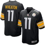 Nike Markus Wheaton Pittsburgh Steelers Youth Black Team Color Game Jersey