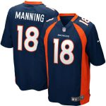 Nike Peyton Manning Denver Broncos Youth Navy Blue Alternate Game Jersey