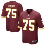 Nike Brandon Scherff Washington Redskins Burgundy Game Jersey