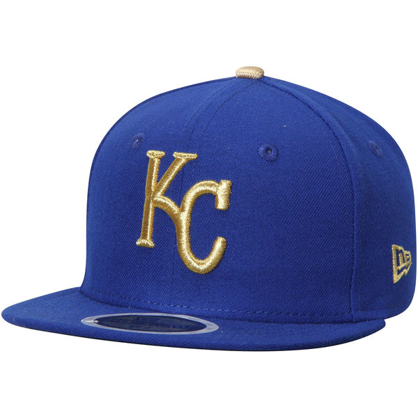 New Era Kansas City Royals Youth Royal Authentic Collection On-Field Alternate 59FIFTY Fitted Hat